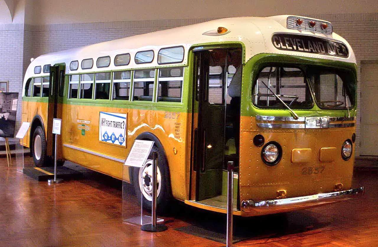 bus, rosa parks facts