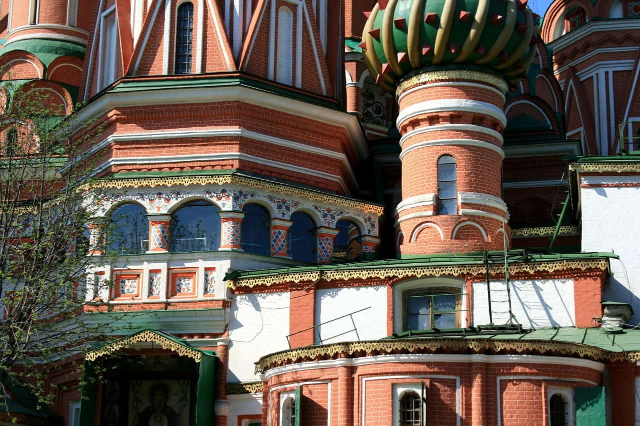 St. Basil's Cathedral Facts, St. Basil's Up Close
