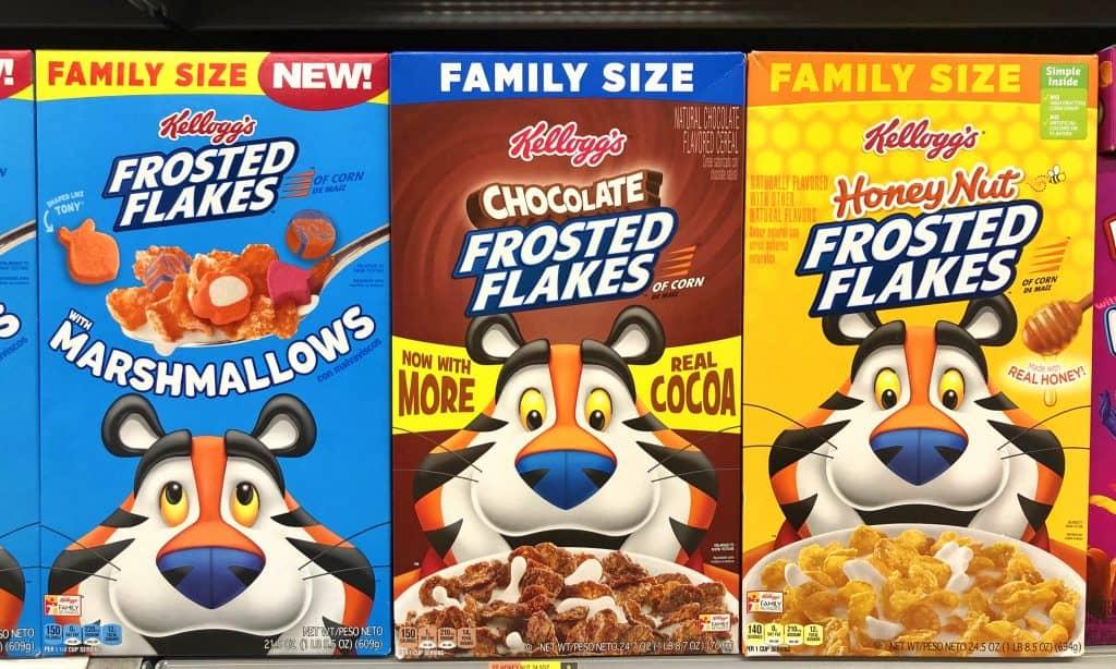 kellogg's frosted flakes, tony the tiger
