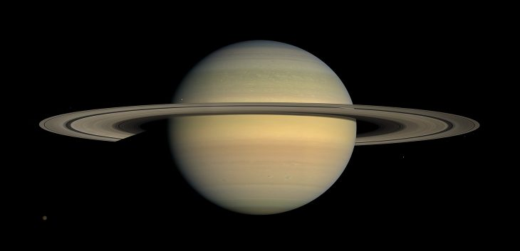 Facts About Saturn, Saturn and Titan