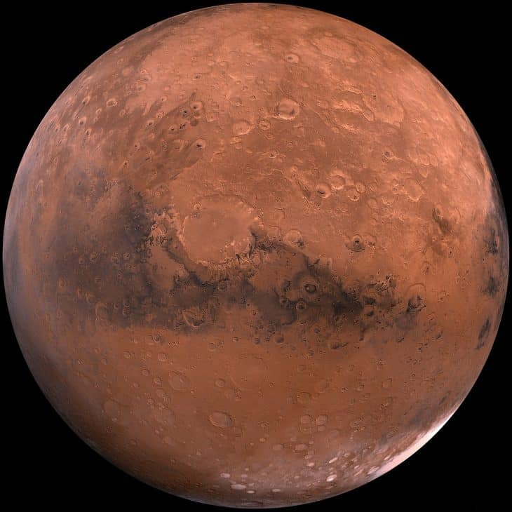 Facts About Mars, Mars