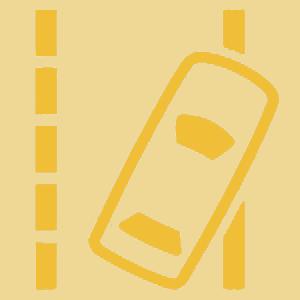Lane Departure Warning Indicator