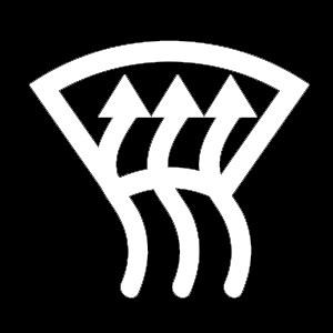 Windshield Defrost Symbol