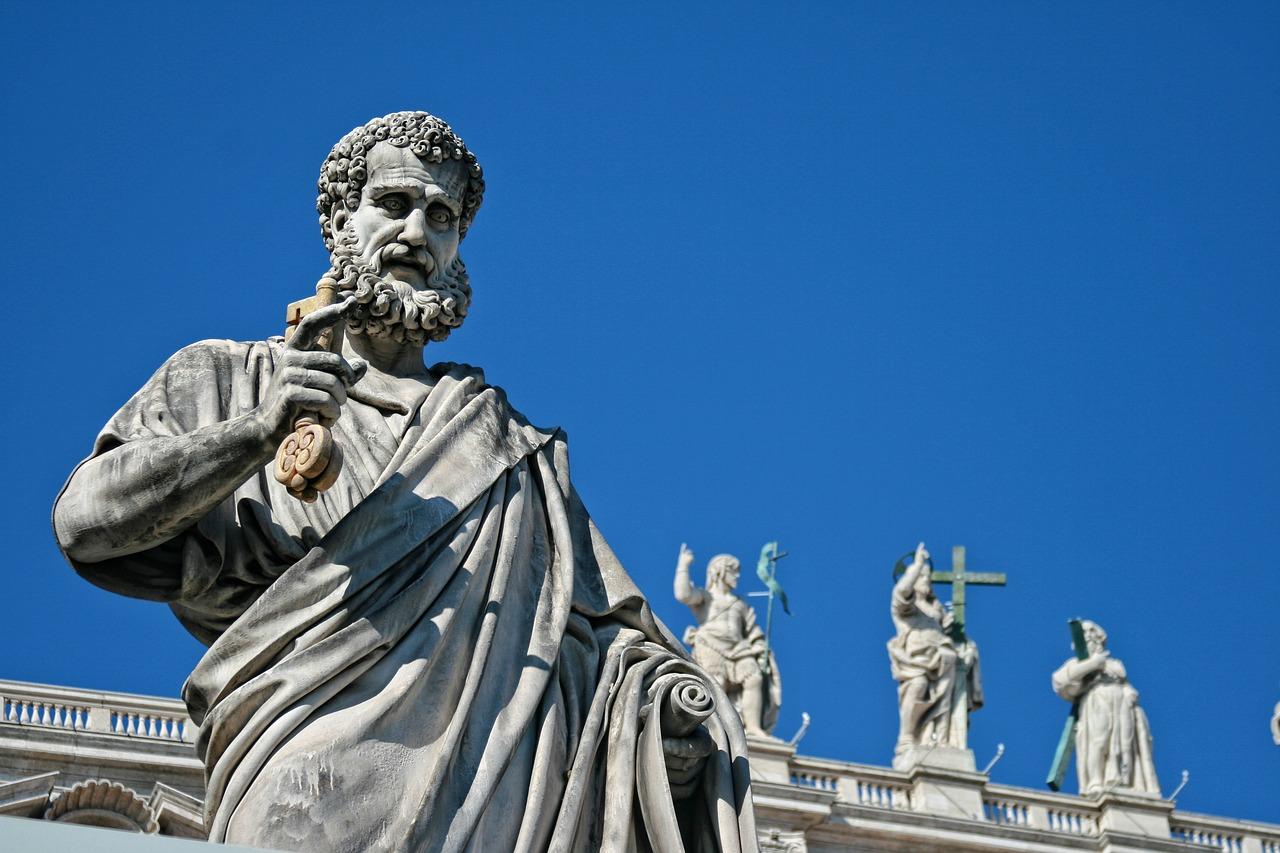 statue, saints