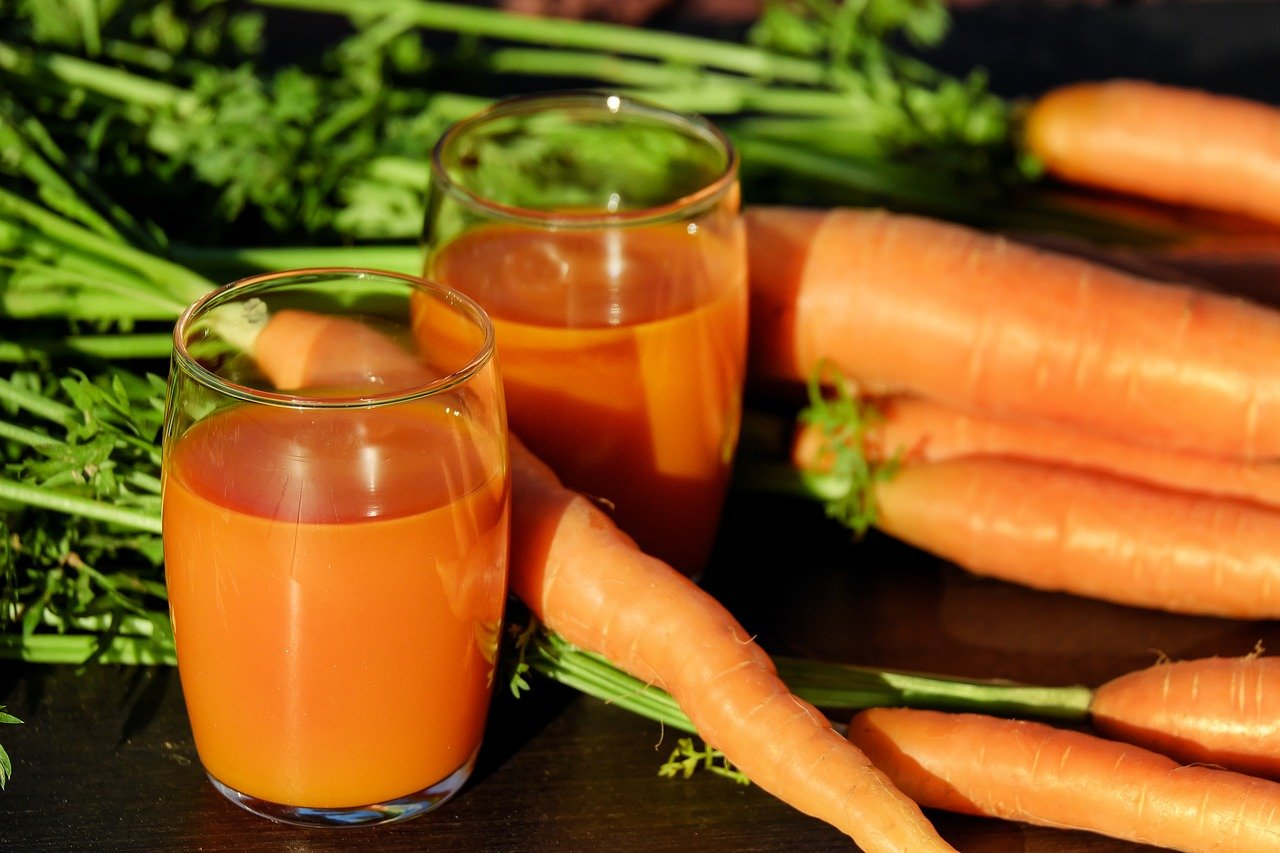 Carrot Facts, Carrot Juice