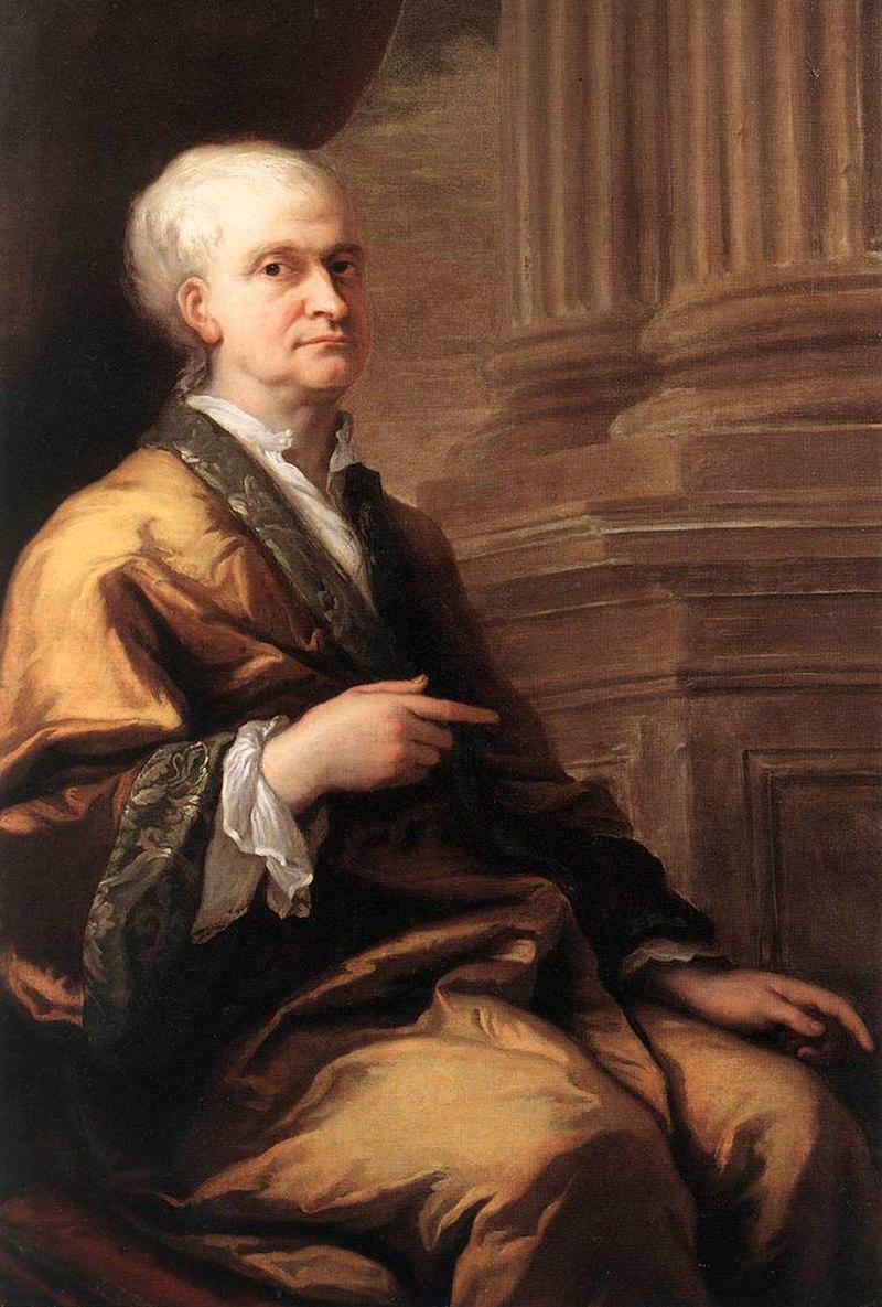 Isaac Newton Portrait, Isaac Newton 1712