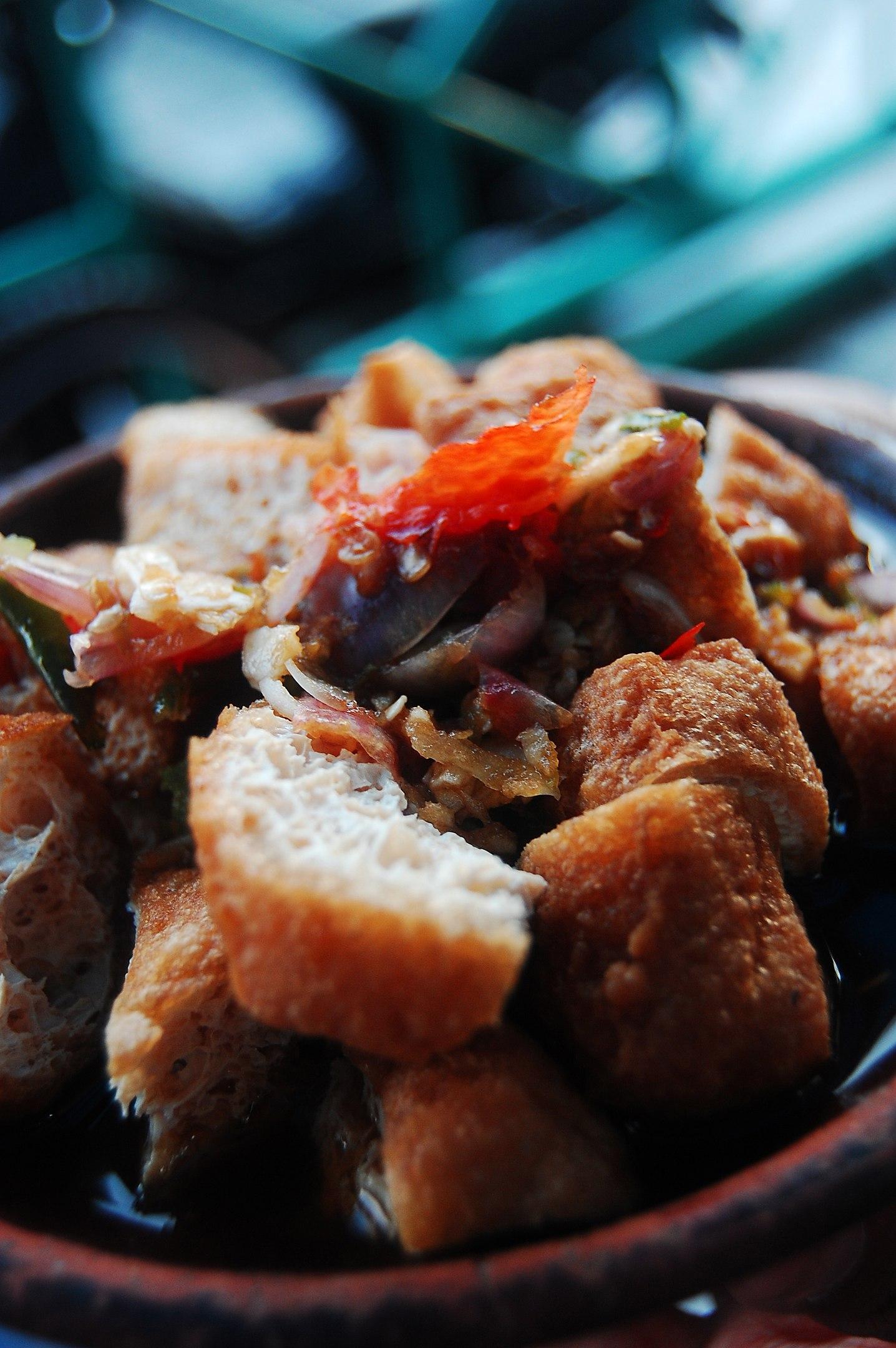 Tofu, Tahu Gejrot