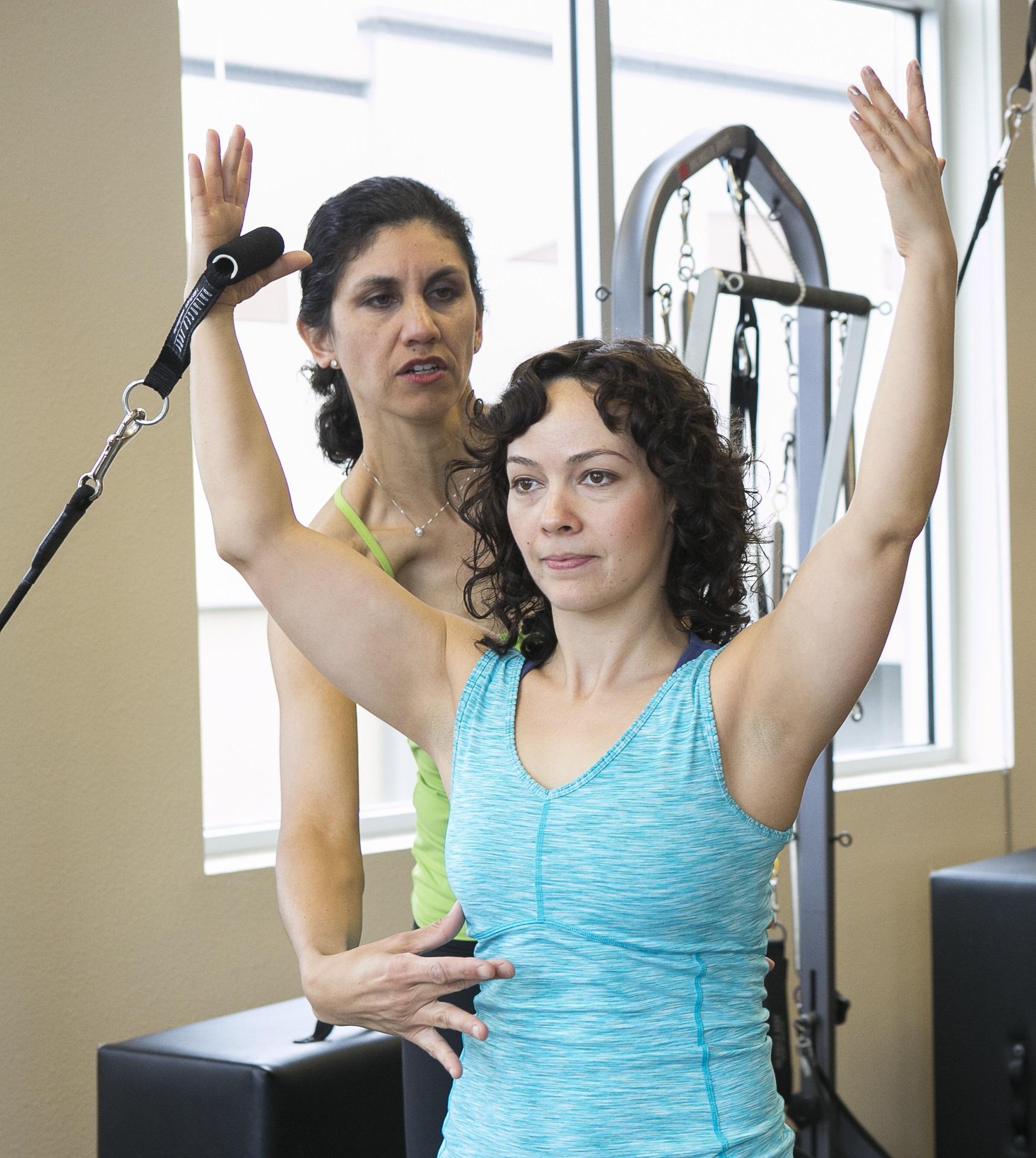 Pilates, Centering the Body