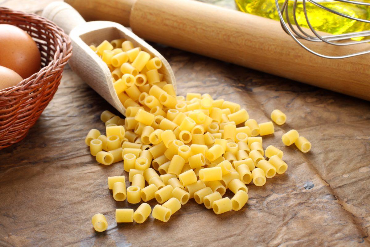 Ditalini - Italian raw pasta