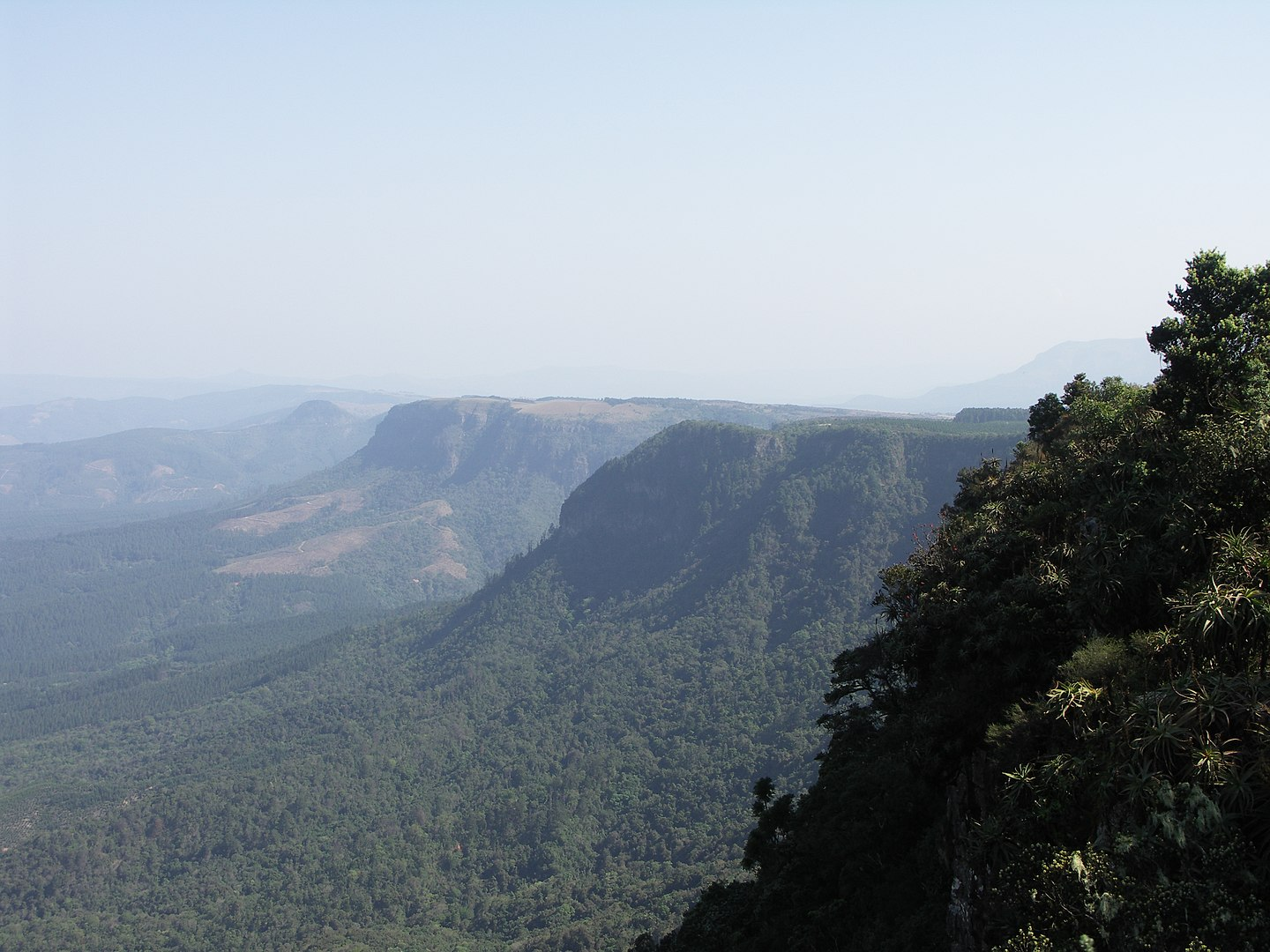 South Africa Facts, Great Escarpment