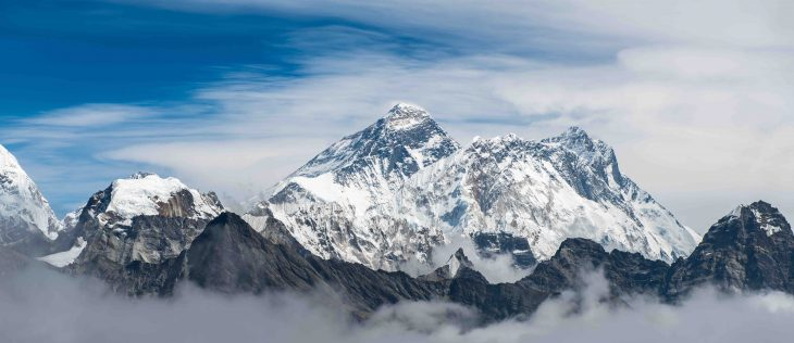Mount Everest, Highest mountain in the world