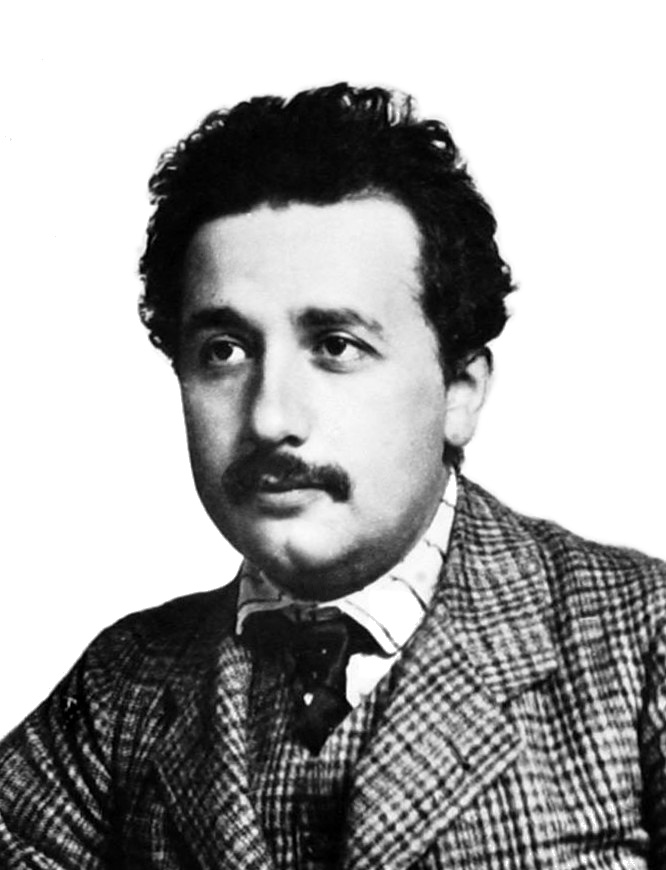 Albert Einstein in 1904, Albert Einstein Portrait
