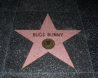 bugs bunny facts, walk of fame