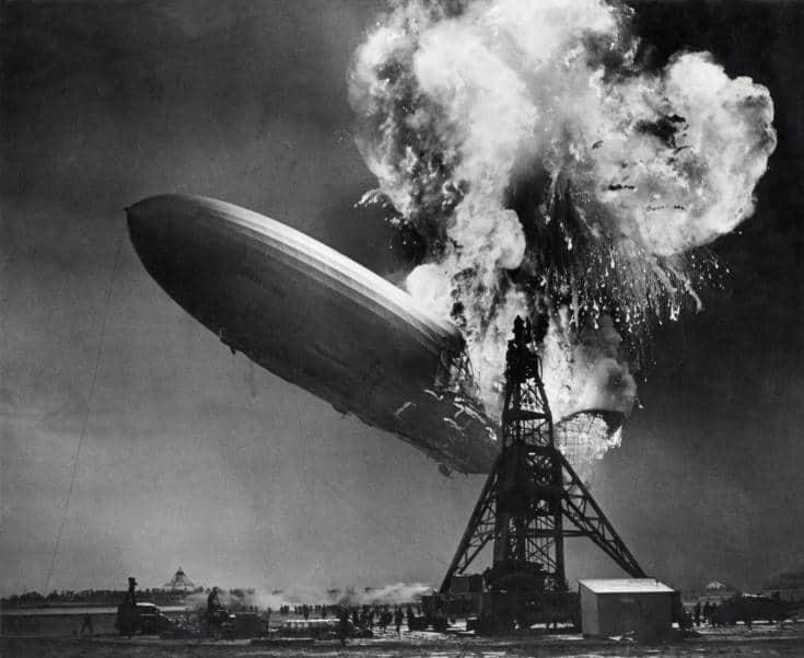 Hindenburg Disaster, Hydrogen Airship, Zeppelin