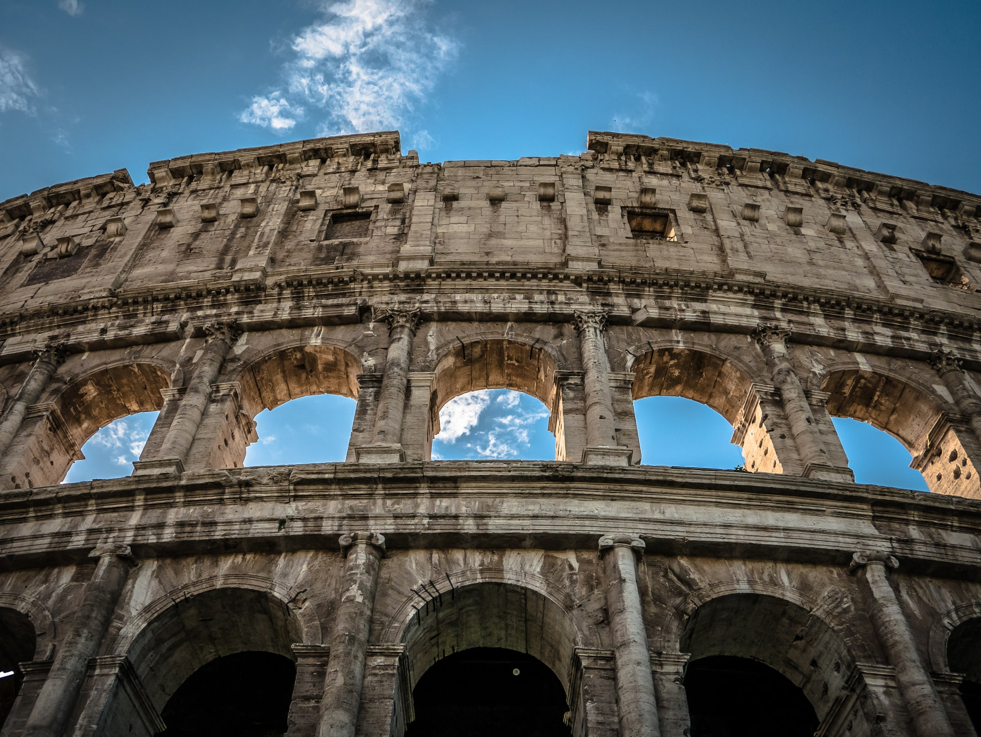 arch of constantine, colosseum