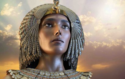 Cleopatra, Egyptian Queen VII century of Egypt