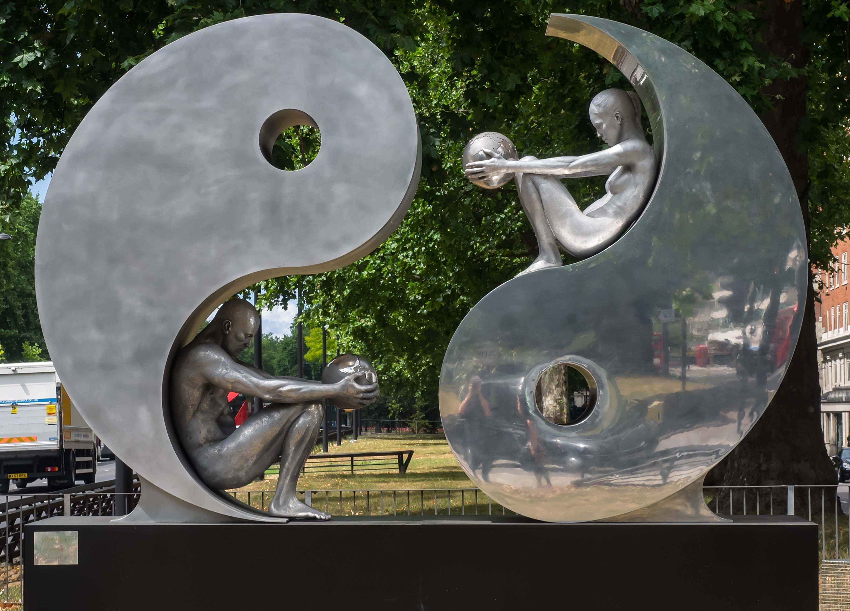 yin yang art, yin yang symbol