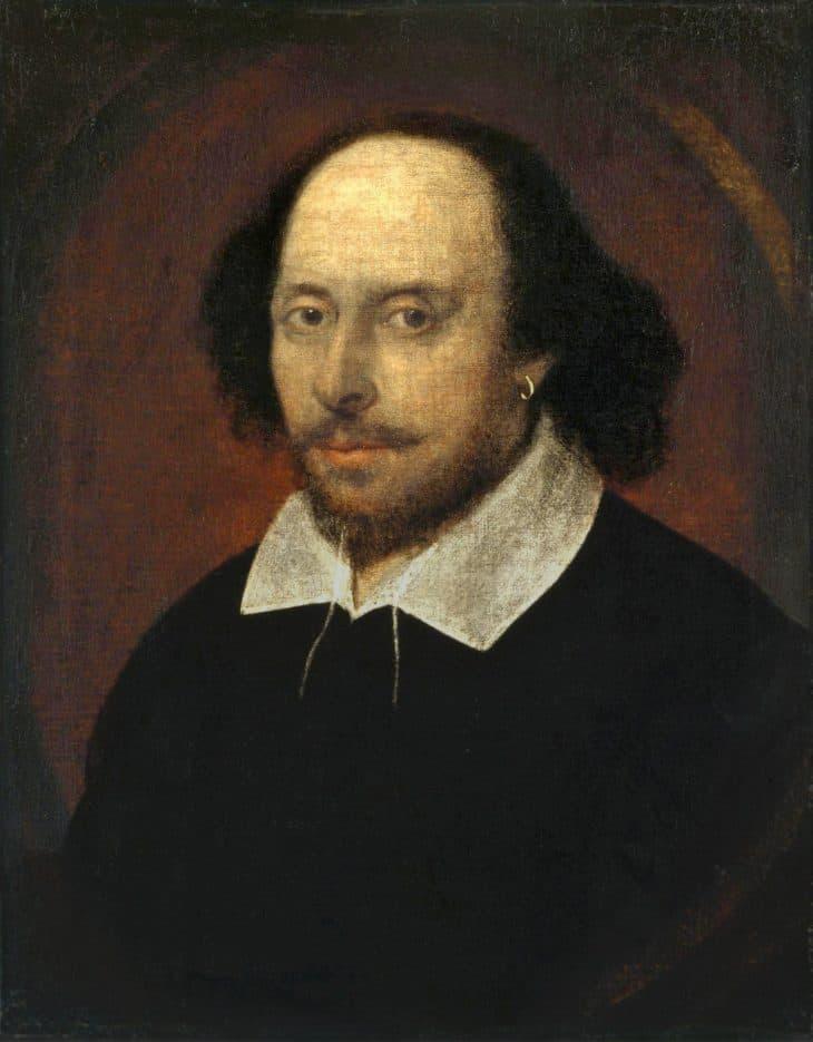 Shakespeare Facts, Chandos Portrait