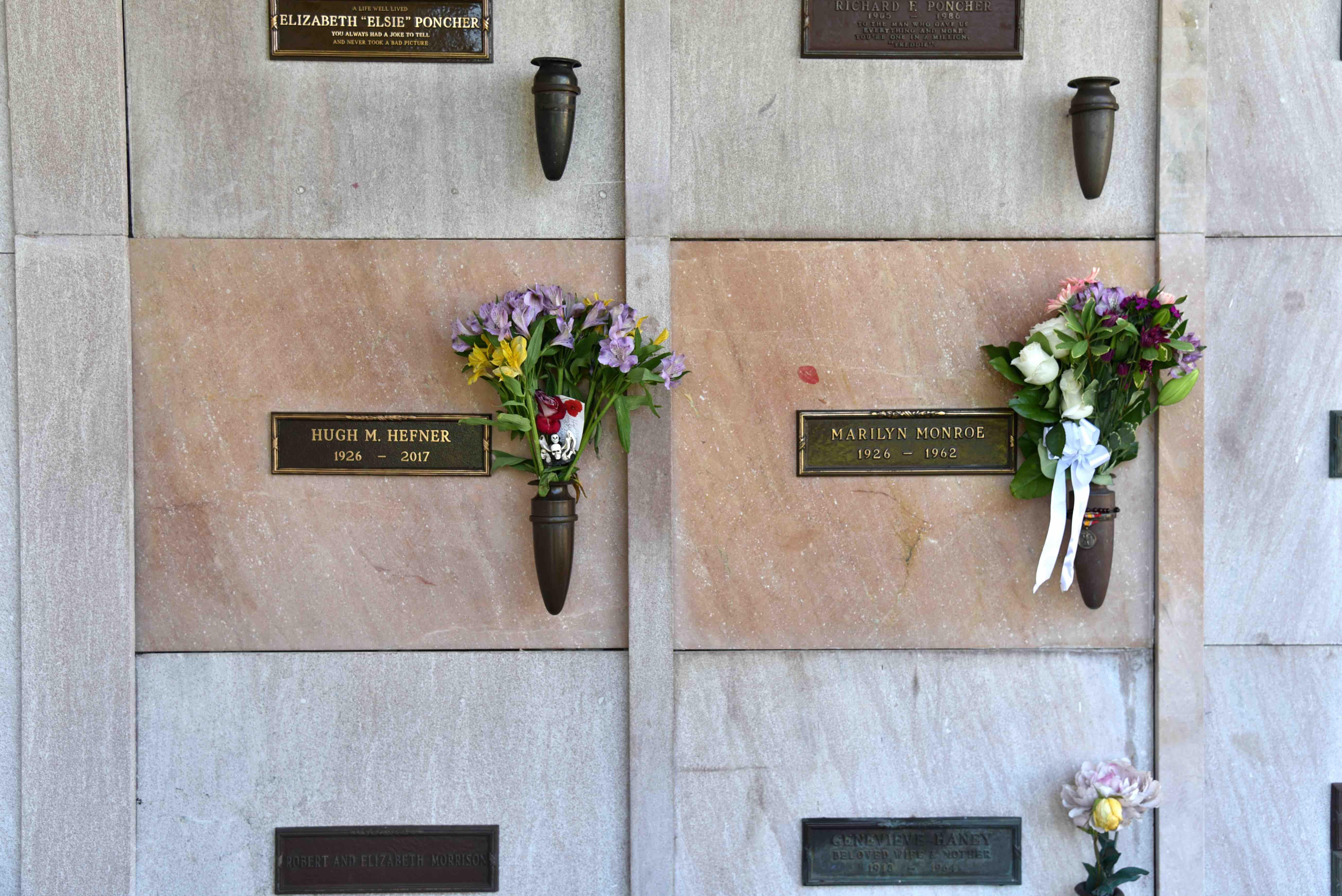 Marilyn Monroe memorial