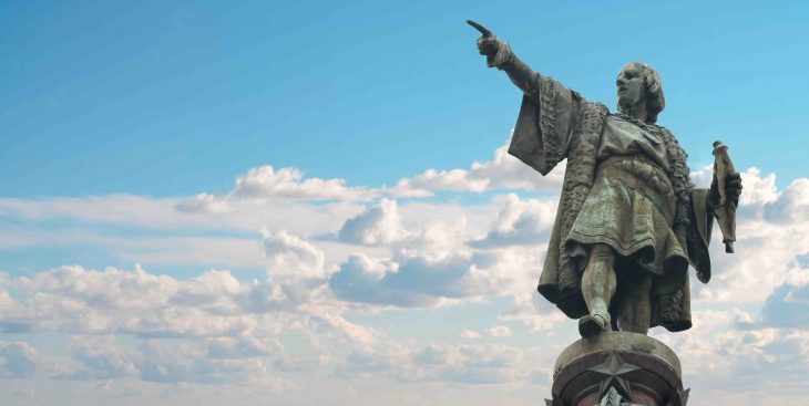 Christopher Columbus, Christopher Columbus monument